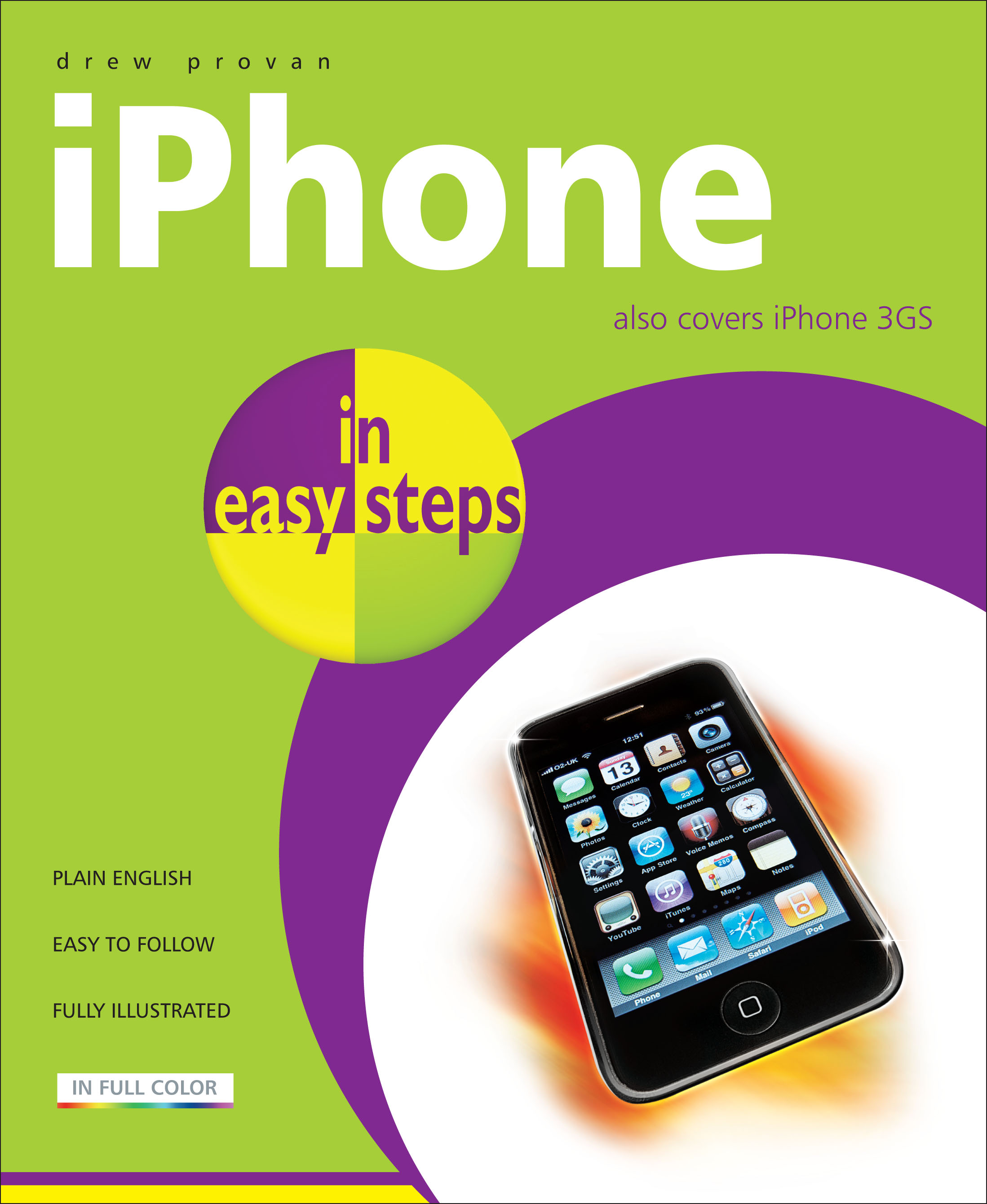 9781840783919 iPhone in easy steps, 3rd edition