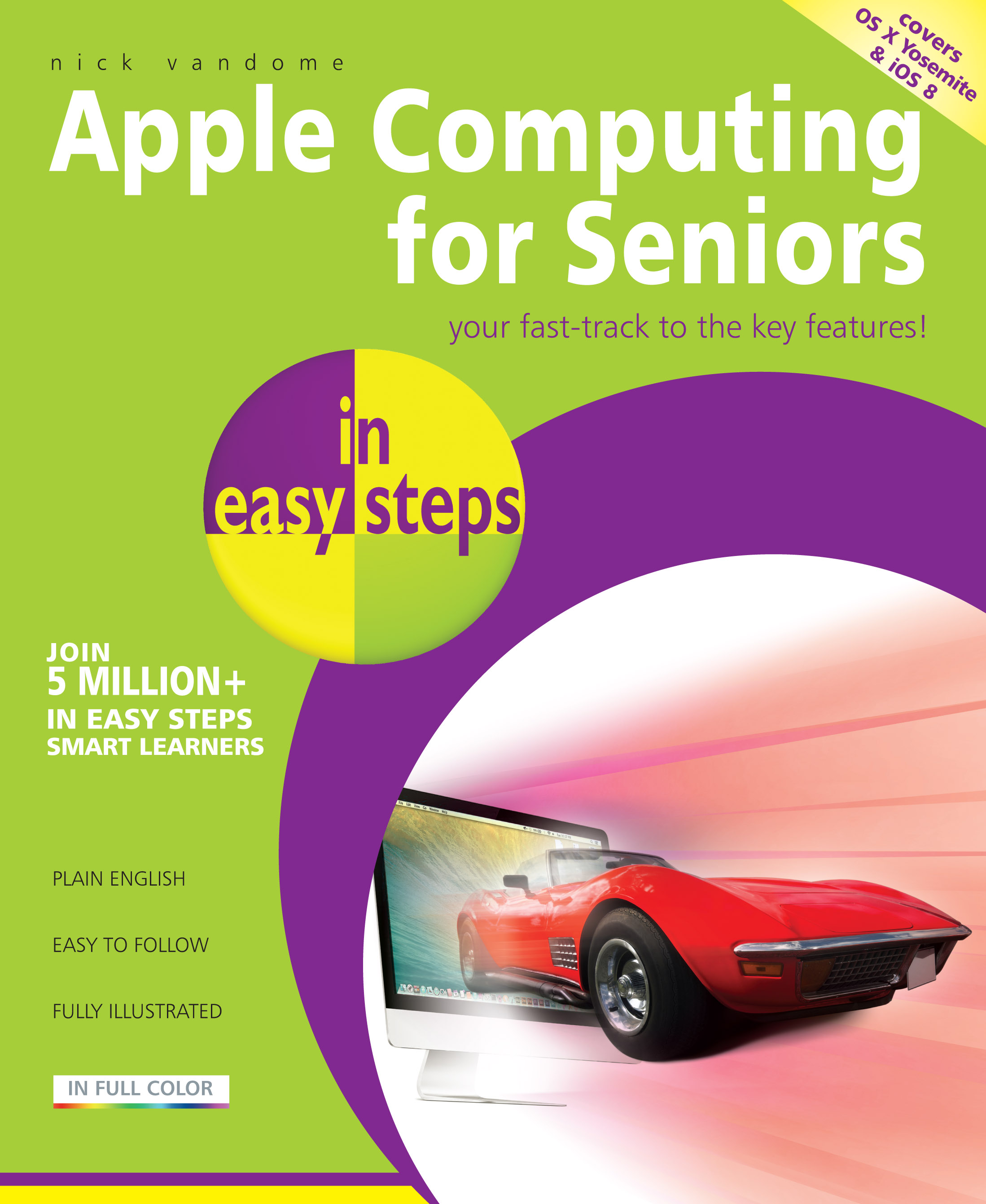 9781840786064 Apple Computing for Seniors in easy steps