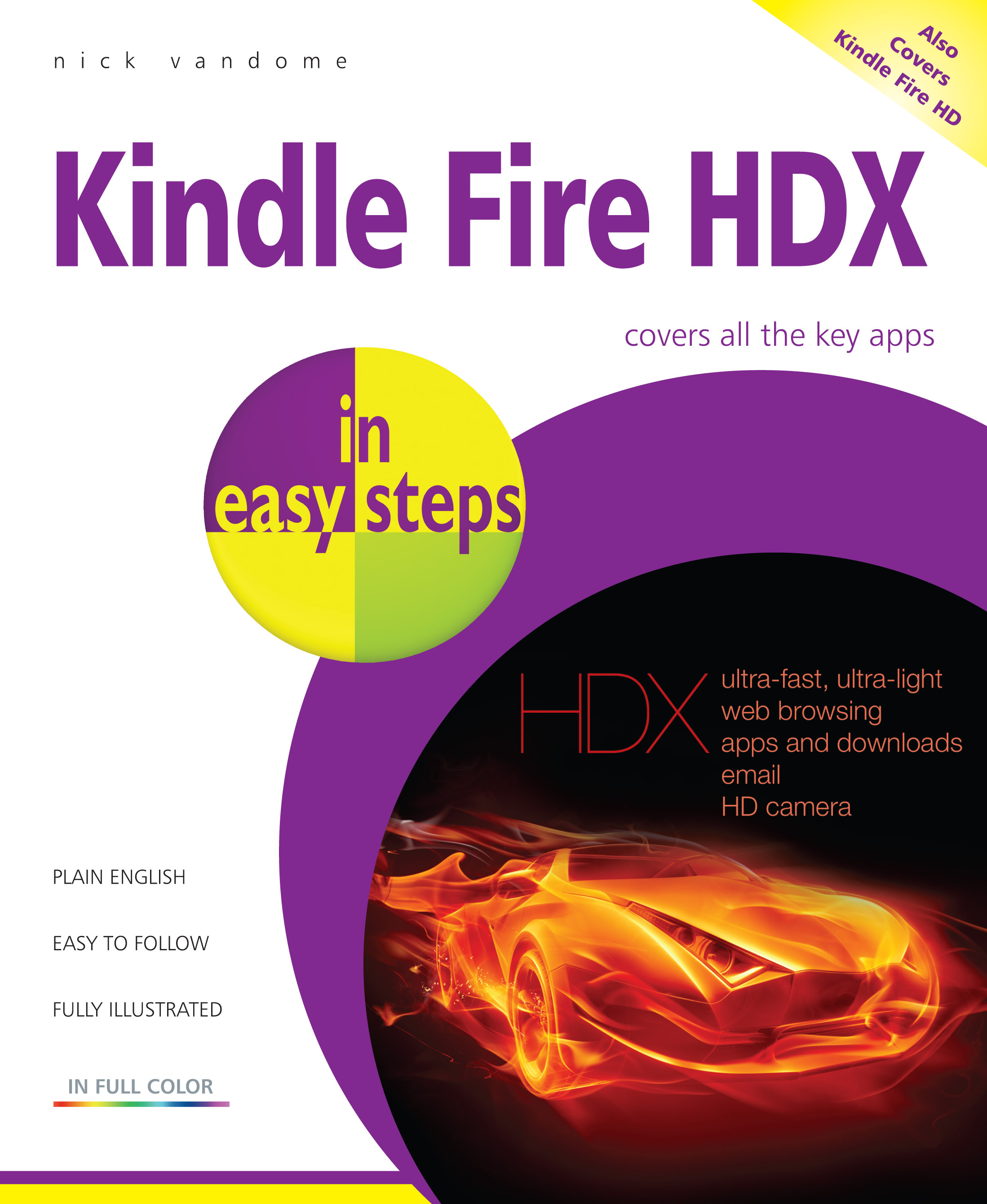 Kindle Fire HDX in easy steps 9781840786248