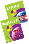 Linux in easy steps and Raspberry Pi in easy steps – SPECIAL OFFER