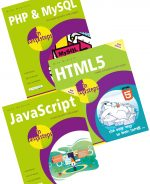 PHP & MySQL in easy steps, 2nd edition, HTML5 in easy steps, 2nd edition, JavaScript in easy steps, 6th edition – SPECIAL OFFER