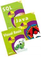 SQL in easy steps, Java in easy steps, Visual Basic in easy steps – SPECIAL OFFER