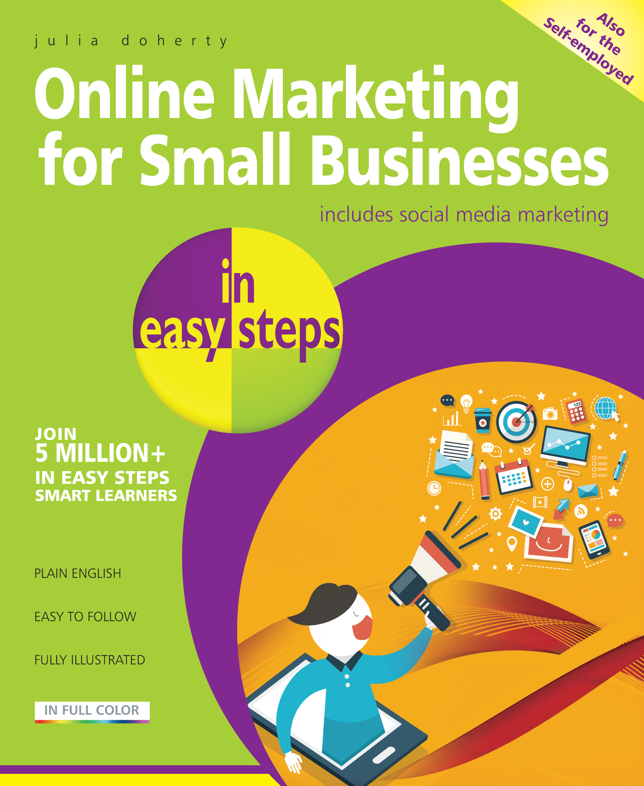 Online Marketing for Small Businesses in easy steps 9781840786286