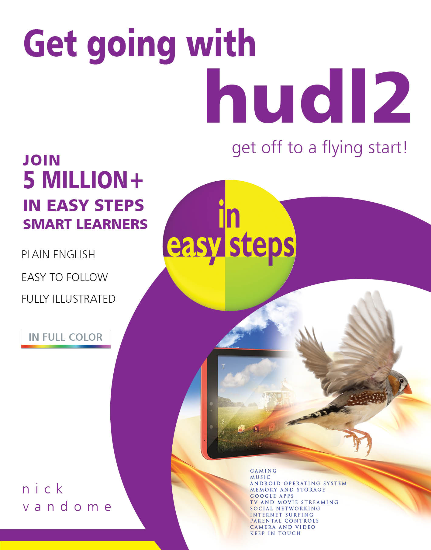 Get going with hudl2 in easy steps PDF