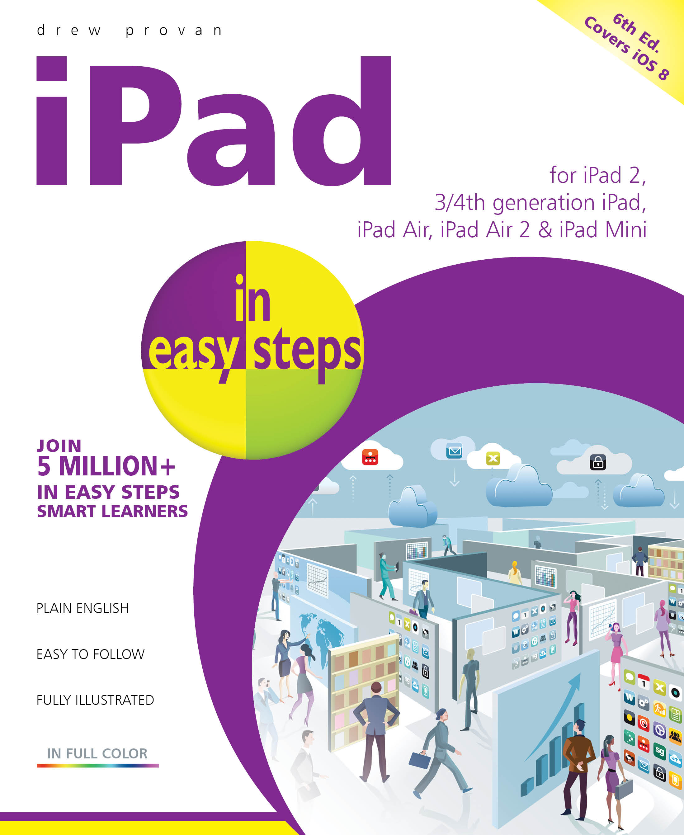 iPad in easy steps, 6th edition - covers iOS 8 - PDF version