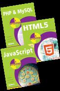 PHP & MySQL in easy steps, HTML5 in easy steps, JavaScript in easy steps – SPECIAL OFFER