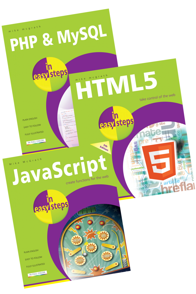 HTML5 in easy steps by McGrath, Mike