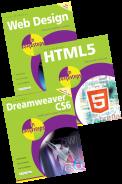 Web Design in easy steps, HTML5 in easy steps and Dreamweaver CS6 in easy steps – SPECIAL OFFER
