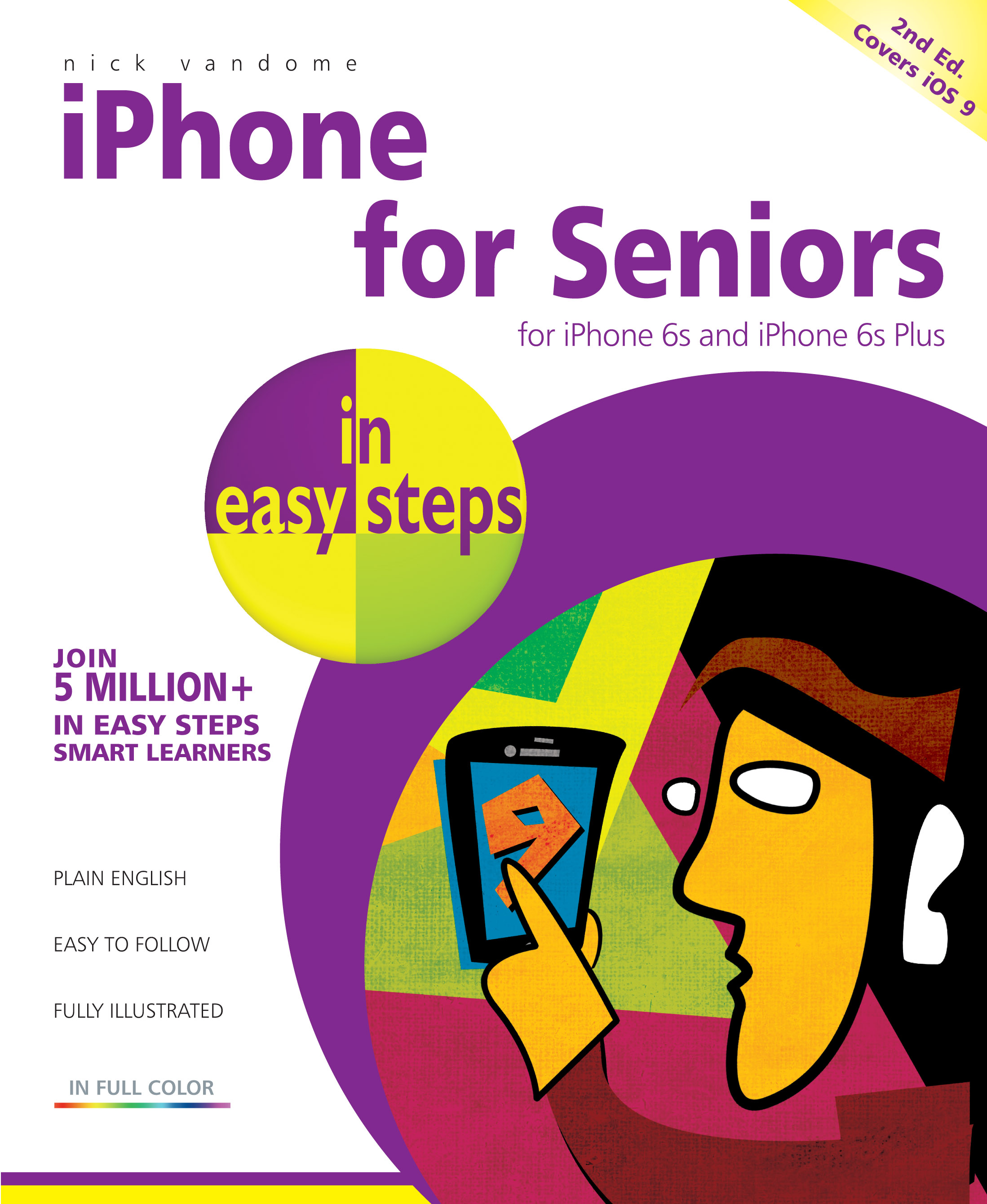 iPhone for Seniors in easy steps 2nd edition 9781840786934 PDF