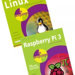 Linux in easy steps and Raspberry Pi 3 in easy steps set
