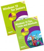 Windows 10 for Seniors in easy steps, 3rd edition, and Windows 10 Tips, Tricks & Shortcuts in easy steps, 2nd edition – SPECIAL OFFER
