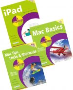 iPad in easy steps, Mac Basics in easy steps and Mac Tips, Tricks & Shortcuts in easy steps – SPECIAL OFFER