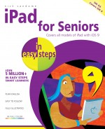 iPad for Seniors in easy steps, 5th edition – covers iOS 9 – ebook (PDF)