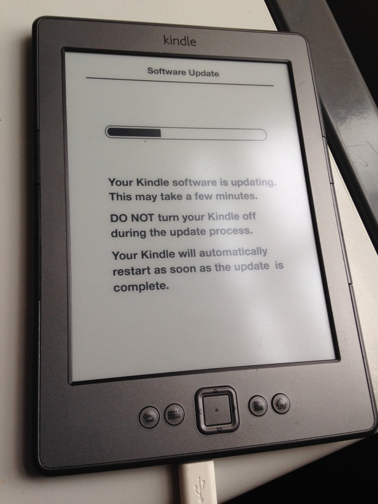latest update for kindle