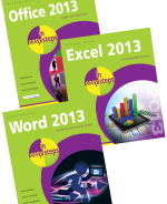 Office 2013 in easy steps, Excel 2013 in easy steps and Word 2013 in easy steps – SPECIAL OFFER