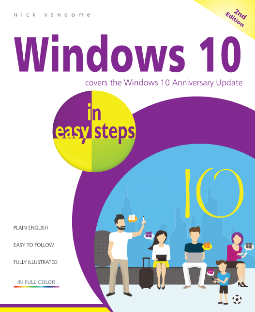 Windows 10 in easy steps, 2nd Edition ebook PDF 9781840787511