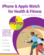 iPhone & Apple Watch for Health & Fitness in easy steps – ebook (PDF)
