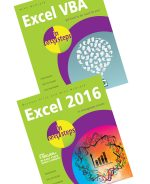 Excel VBA in easy steps and Excel 2016 in easy steps – SPECIAL OFFER