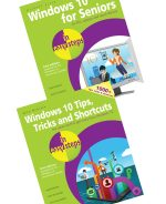Windows 10 for Seniors in easy steps, 2nd Edition, and Windows 10 Tips, Tricks & Shortcuts in easy steps, 2nd Edition – SPECIAL OFFER