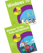 Windows 10 in easy steps, 2nd Edition, and Windows 10 Tips, Tricks & Shortcuts in easy steps, 2nd Edition – SPECIAL OFFER