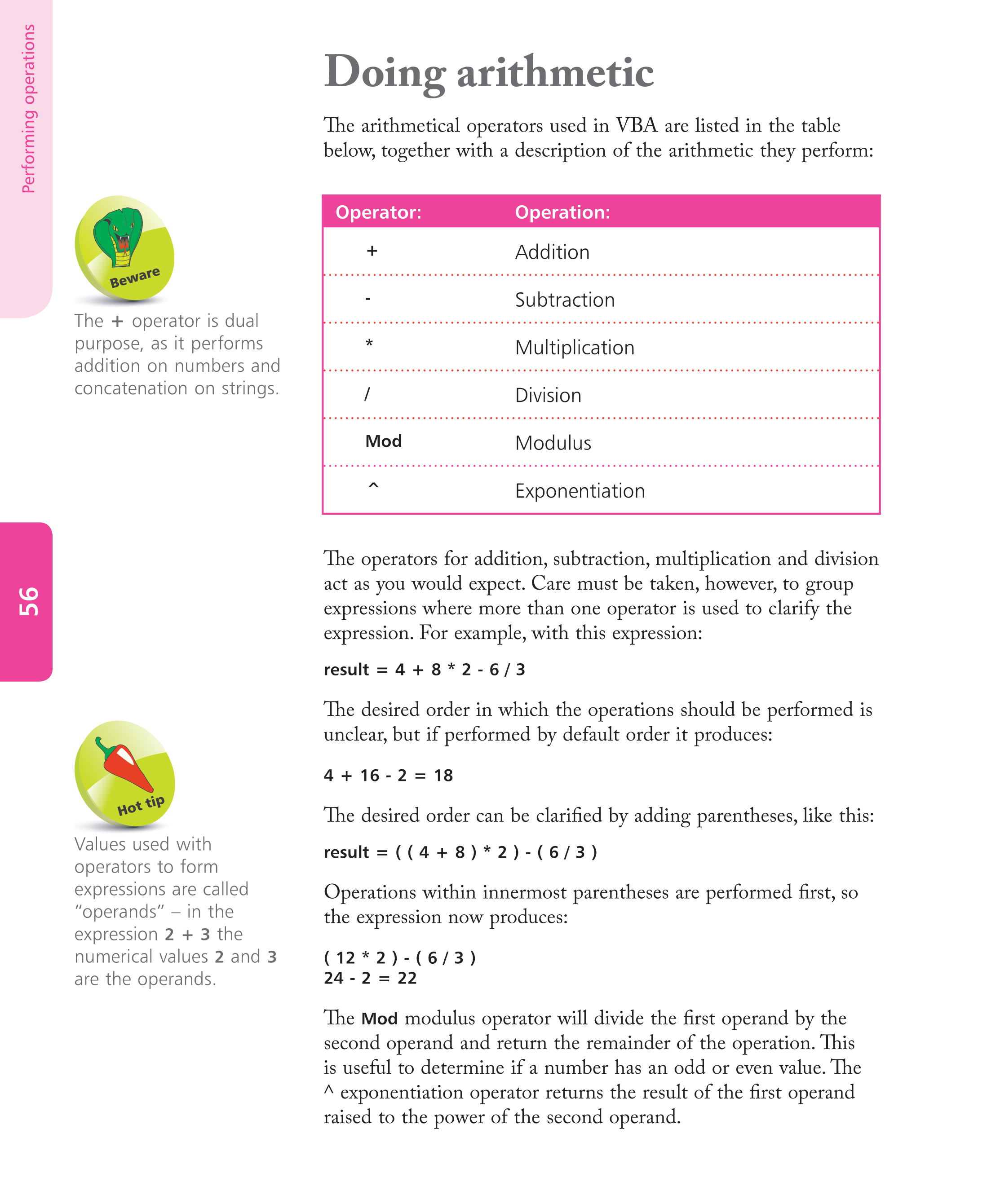 visual basic for applications tutorial word