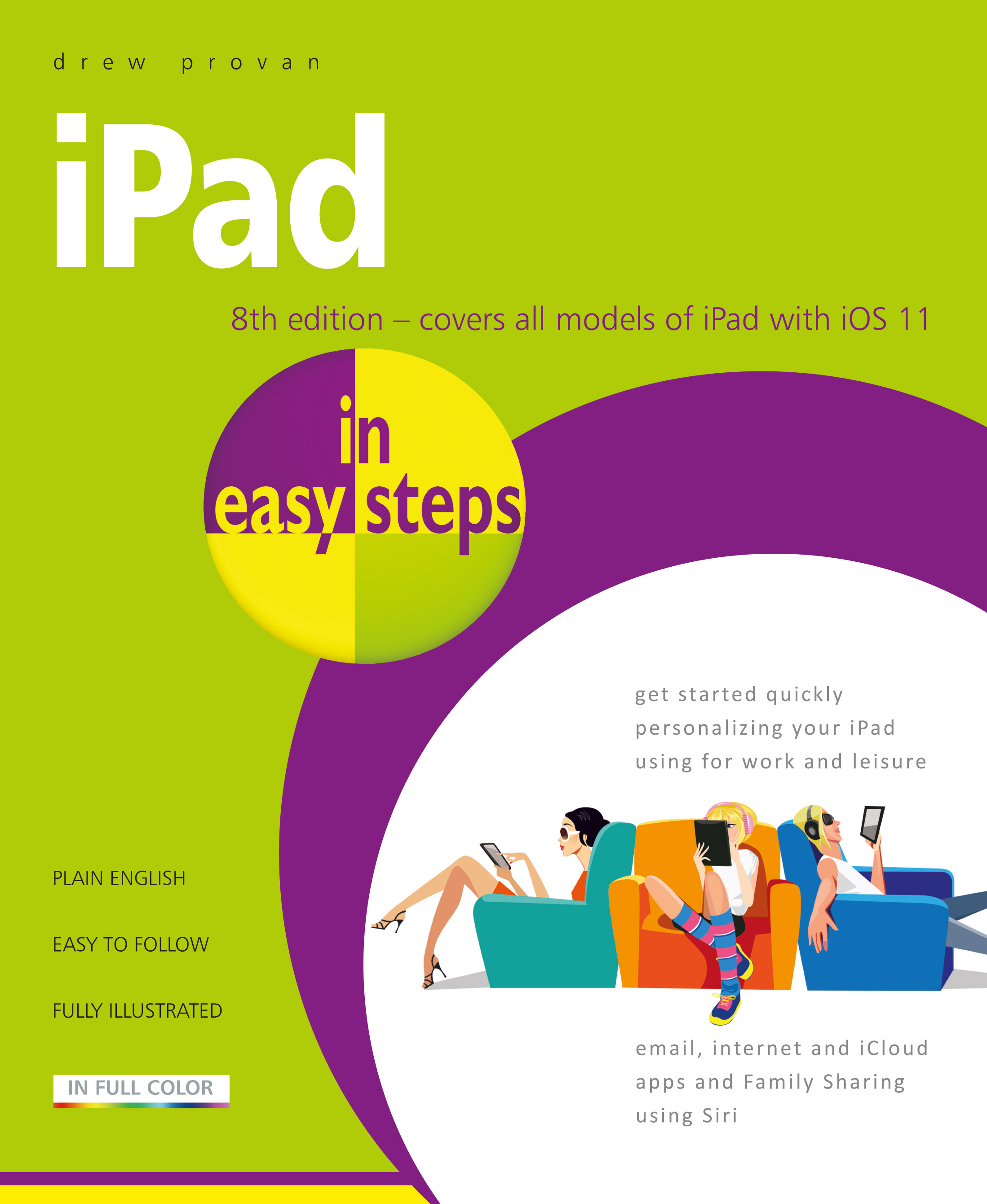 iPad in easy steps, 8th edition 9781840788167