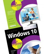 Windows 10 for Seniors in easy steps 2nd edition and Windows 10 in easy steps, Special Edition, 2nd edition – SPECIAL OFFER