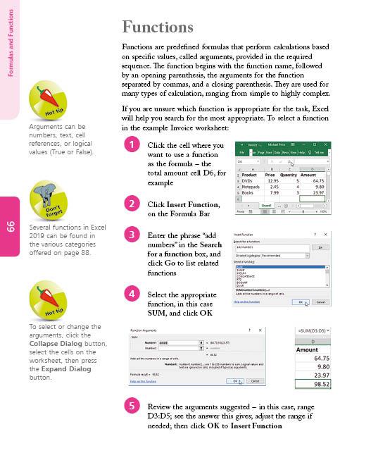 In Easy Steps Excel 2019 in easy steps - ebook (PDF) - In