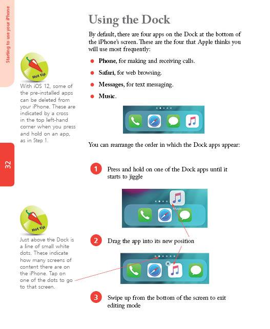 In Easy Steps iPhone for Seniors in easy steps, 5th edition