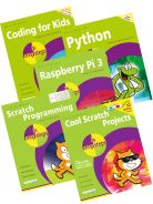5-book set of Coding books for kids – SPECIAL OFFER!