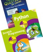 Create Your First Website in easy steps + Python in easy steps + Scratch Programming in easy steps – SPECIAL OFFER