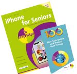 iPhone for Seniors in easy steps + 100 Top Tips – Stay Safe Online and Protect Your Privacy – SPECIAL OFFER
