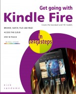 Get going with Kindle Fire in easy steps – covers the HD and Standard versions – ebook (PDF)