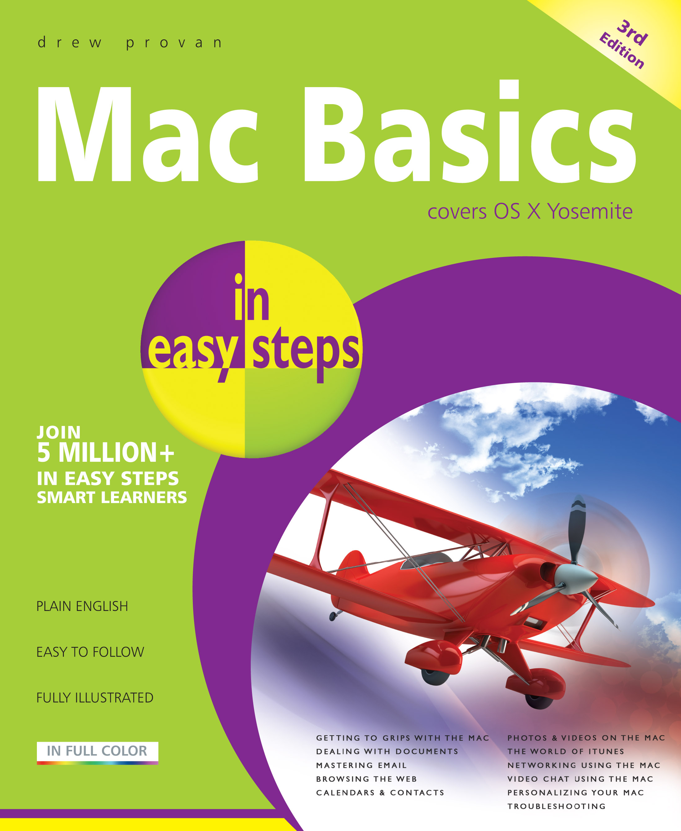 Mac Basics in easy steps 3rd edition 9781840786033