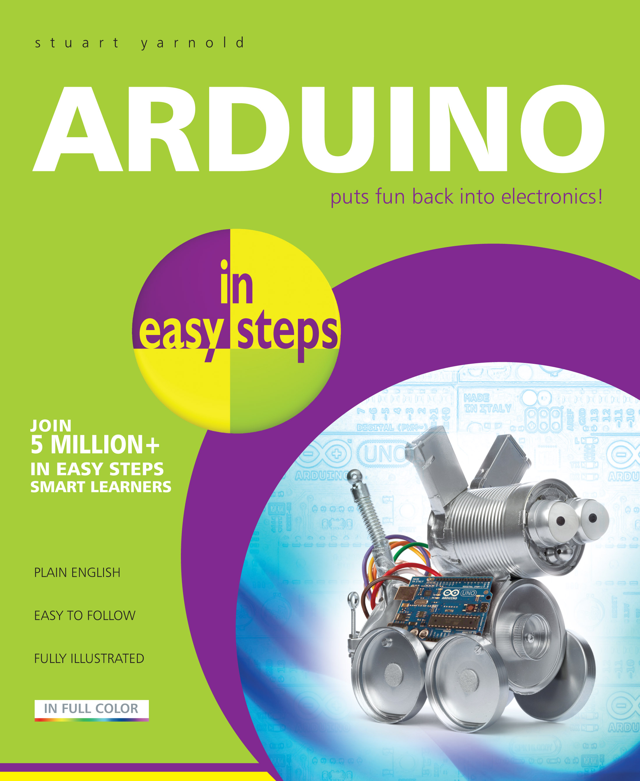 9781840786330 Arduino in easy steps