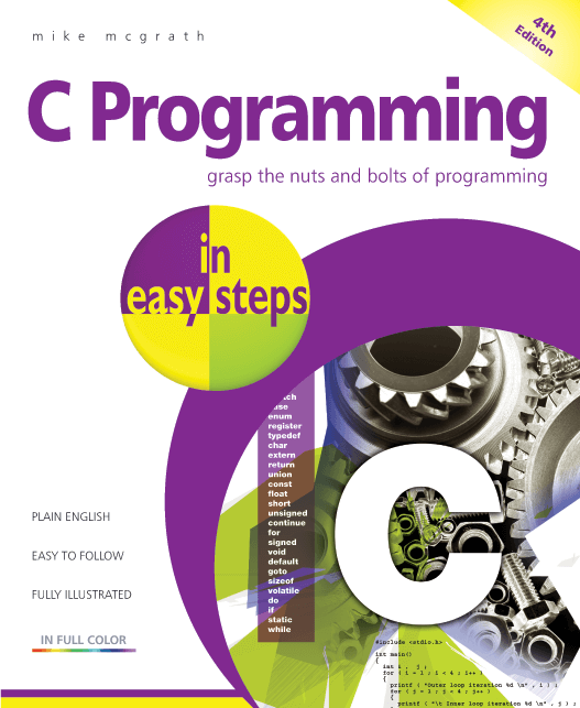 C Programming in easy steps, 4th edition PDF