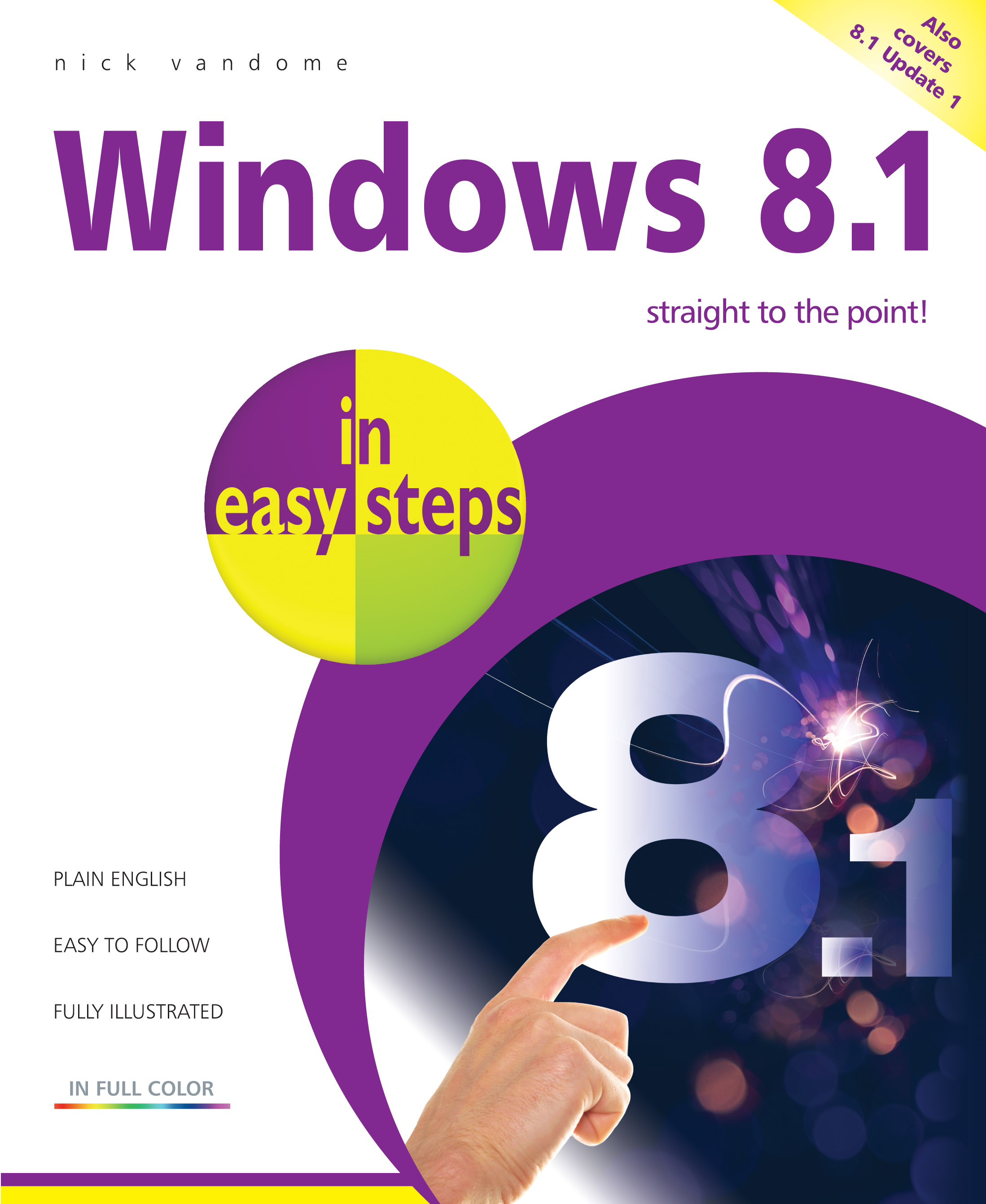 9781840786149 Windows 8.1 in easy steps