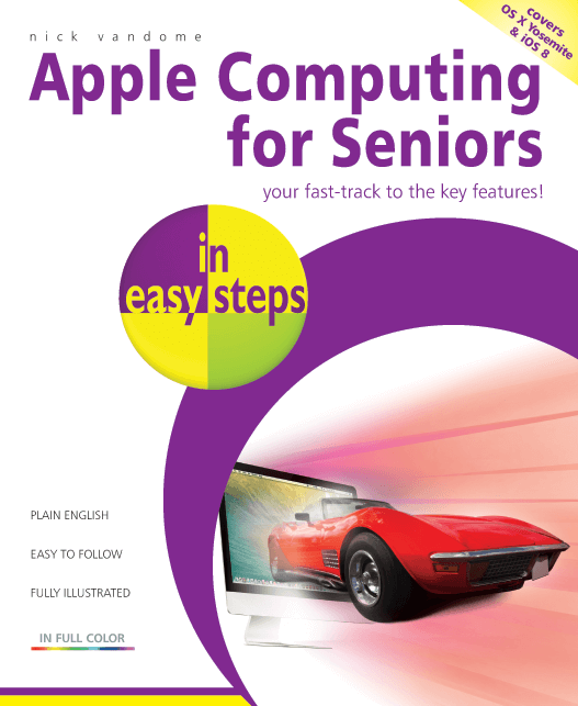 9781840786064 Apple Computing for Seniors in easy steps PDF