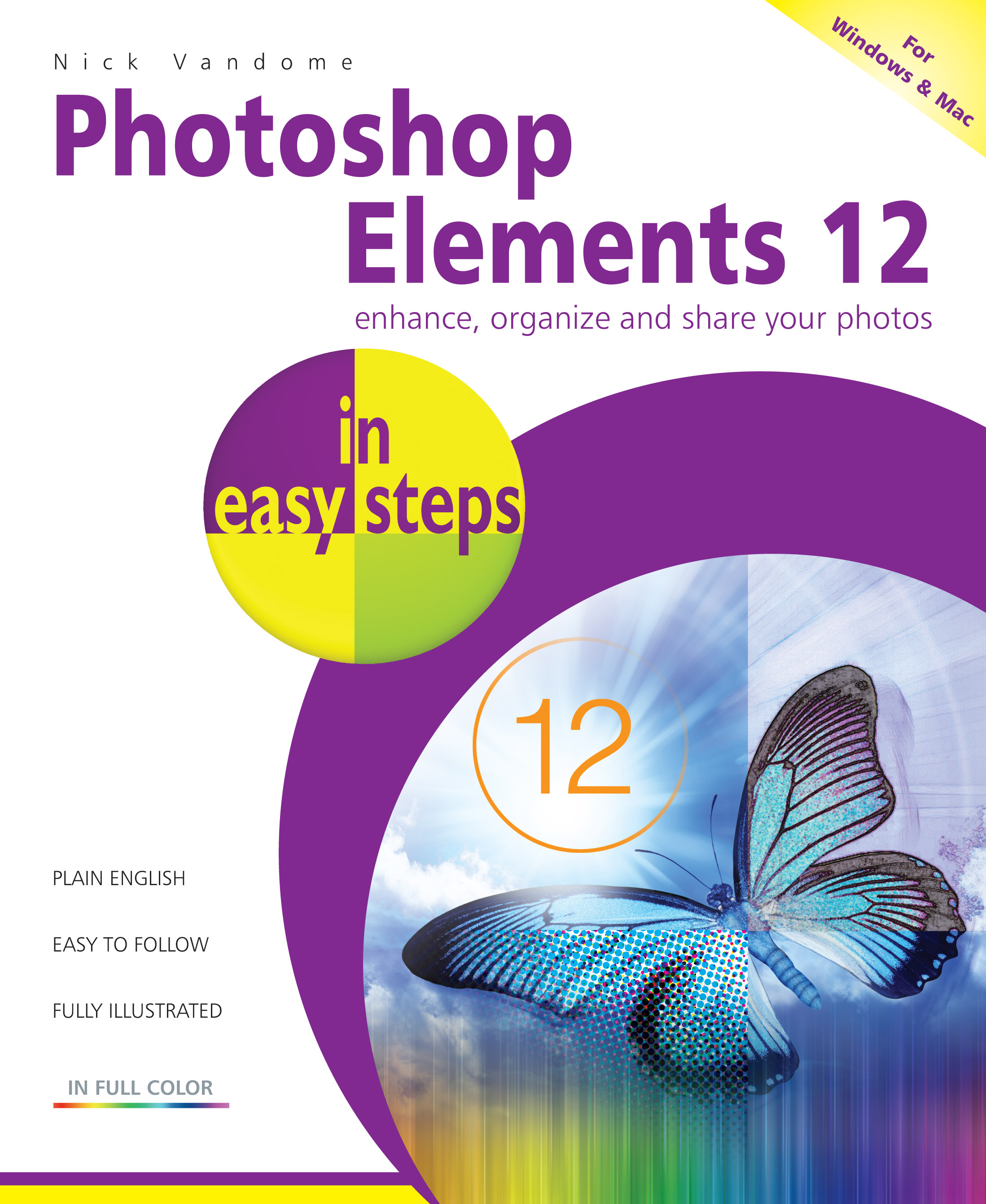 Photoshop Elements 12 in easy steps 9781840786189 PDF