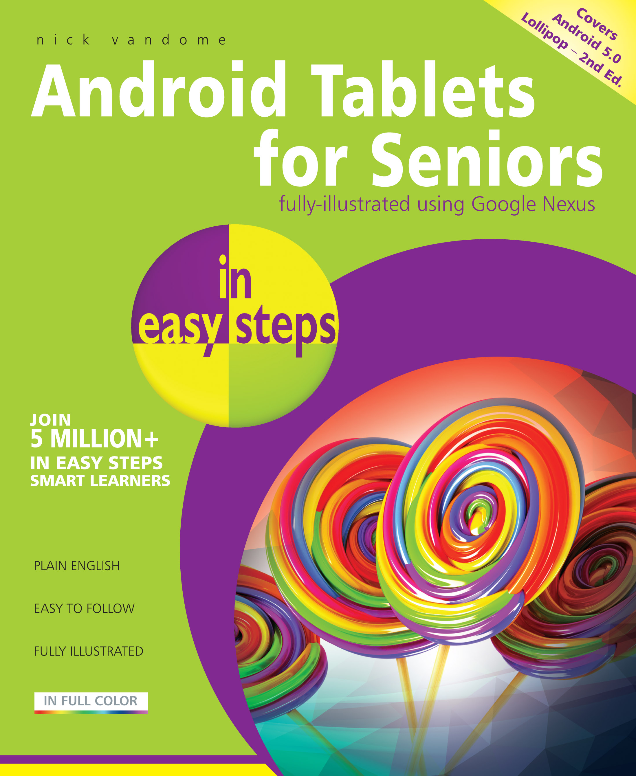 9781840786491 Android Tablets for Seniors in easy steps 9781840786491