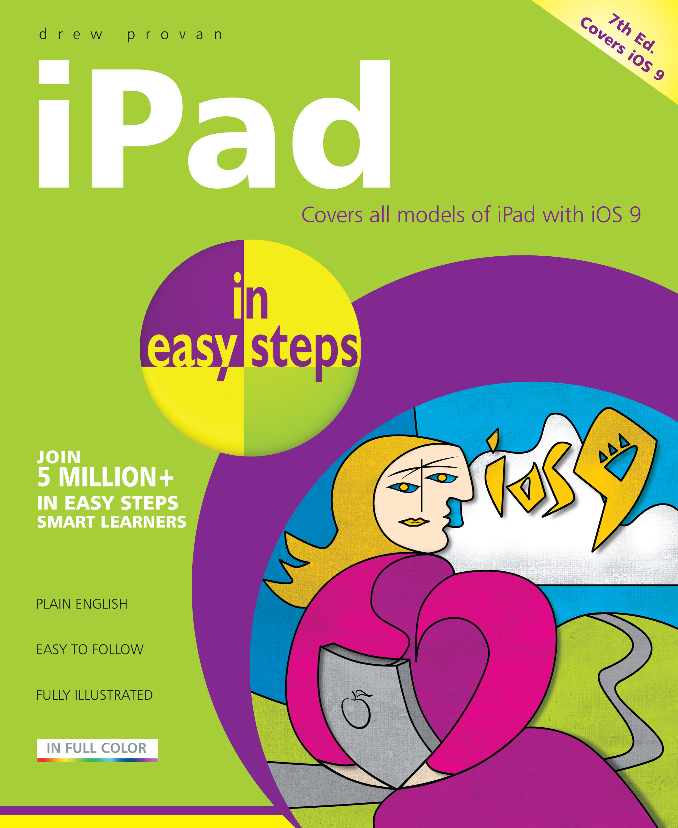iPad in easy steps 7th edition iOS 9 9781840787061