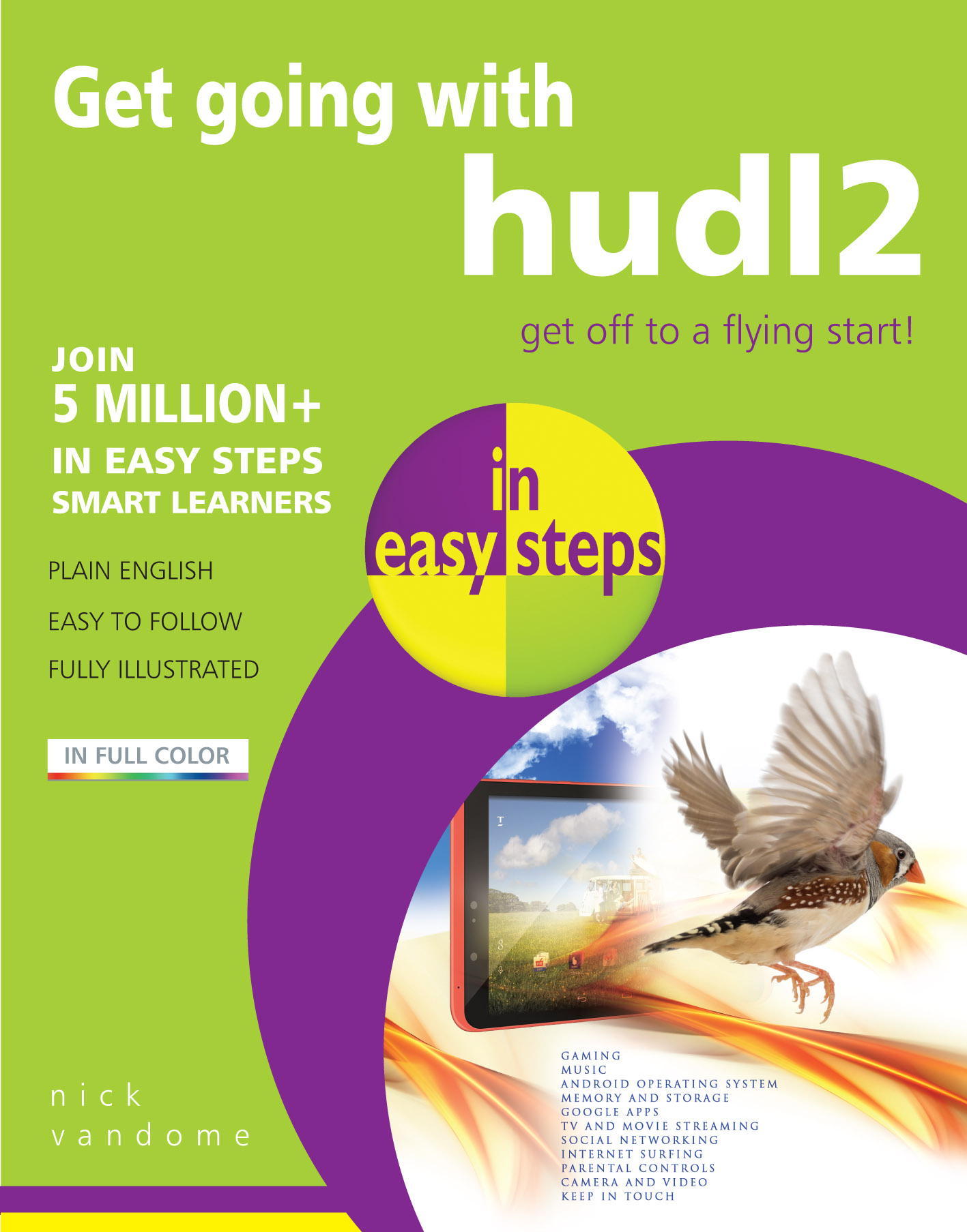 9781840786484 Get going with hudl2 in easy steps