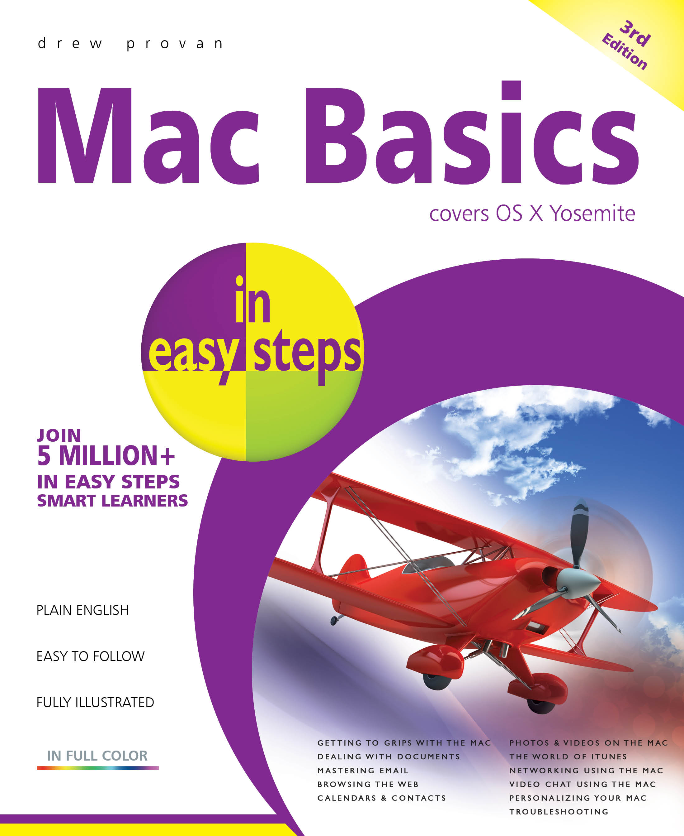 Mac Basics in easy steps, 3rd edition, OS X Yosemite, PDF