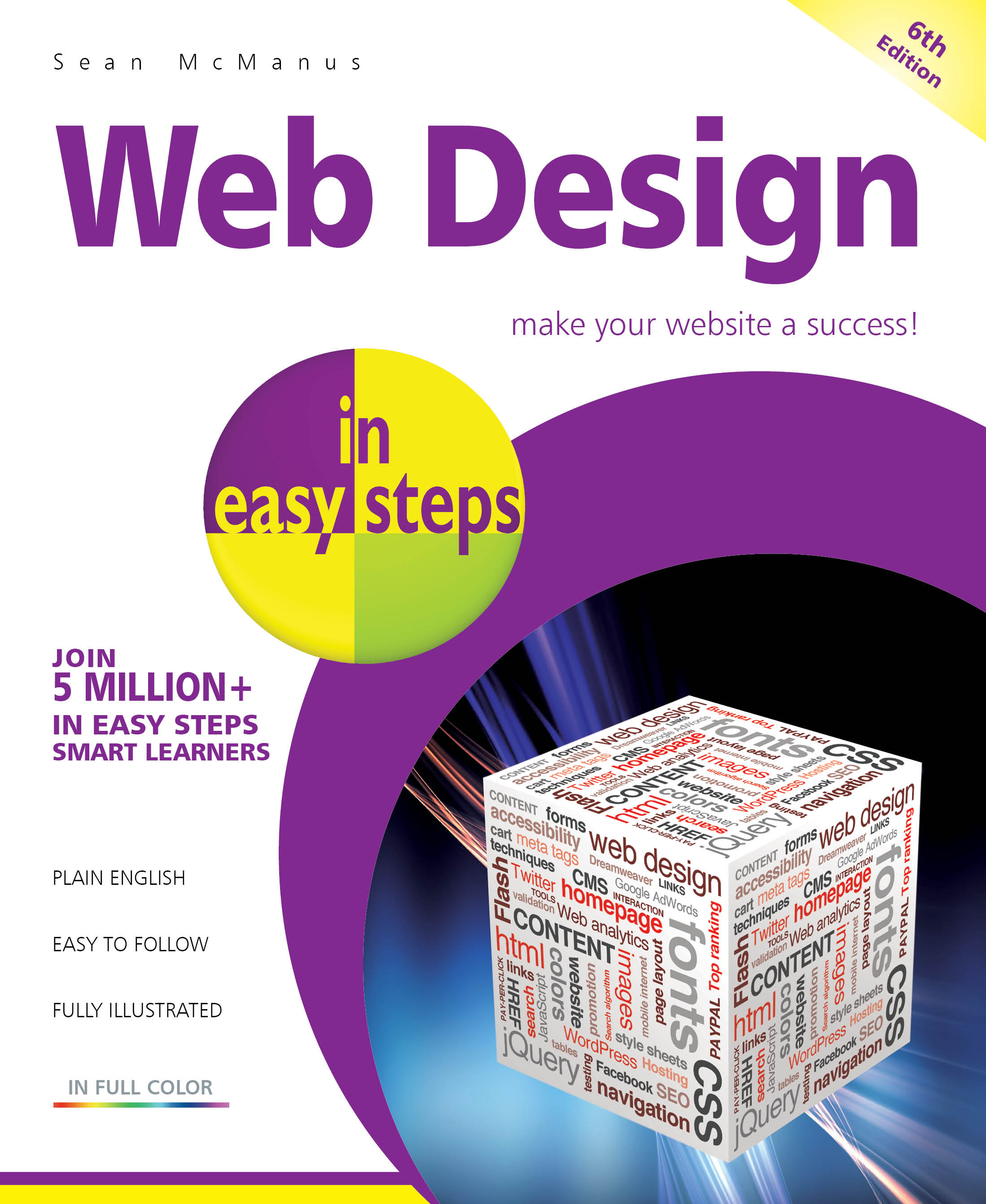Web Design in easy steps, 6th edition, PDF version