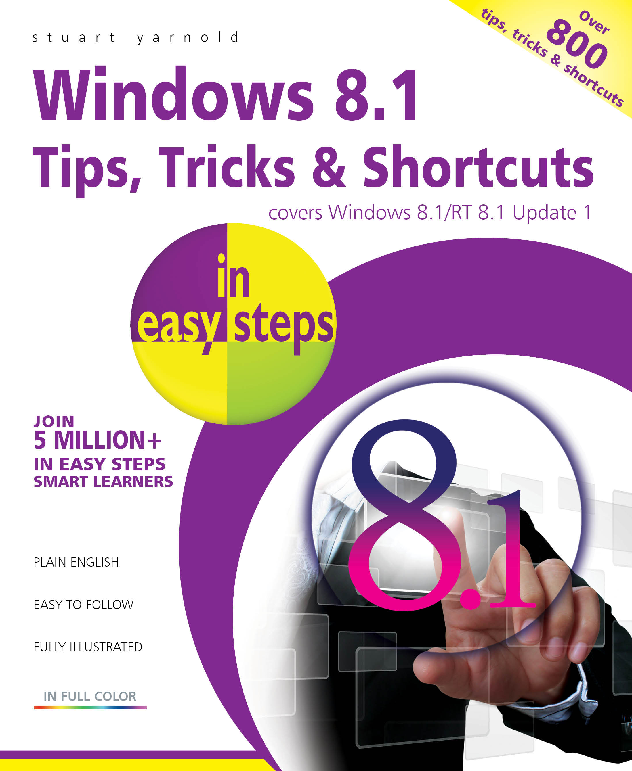 Windows 8.1 Tips Tricks and shortcuts in easy steps PDF