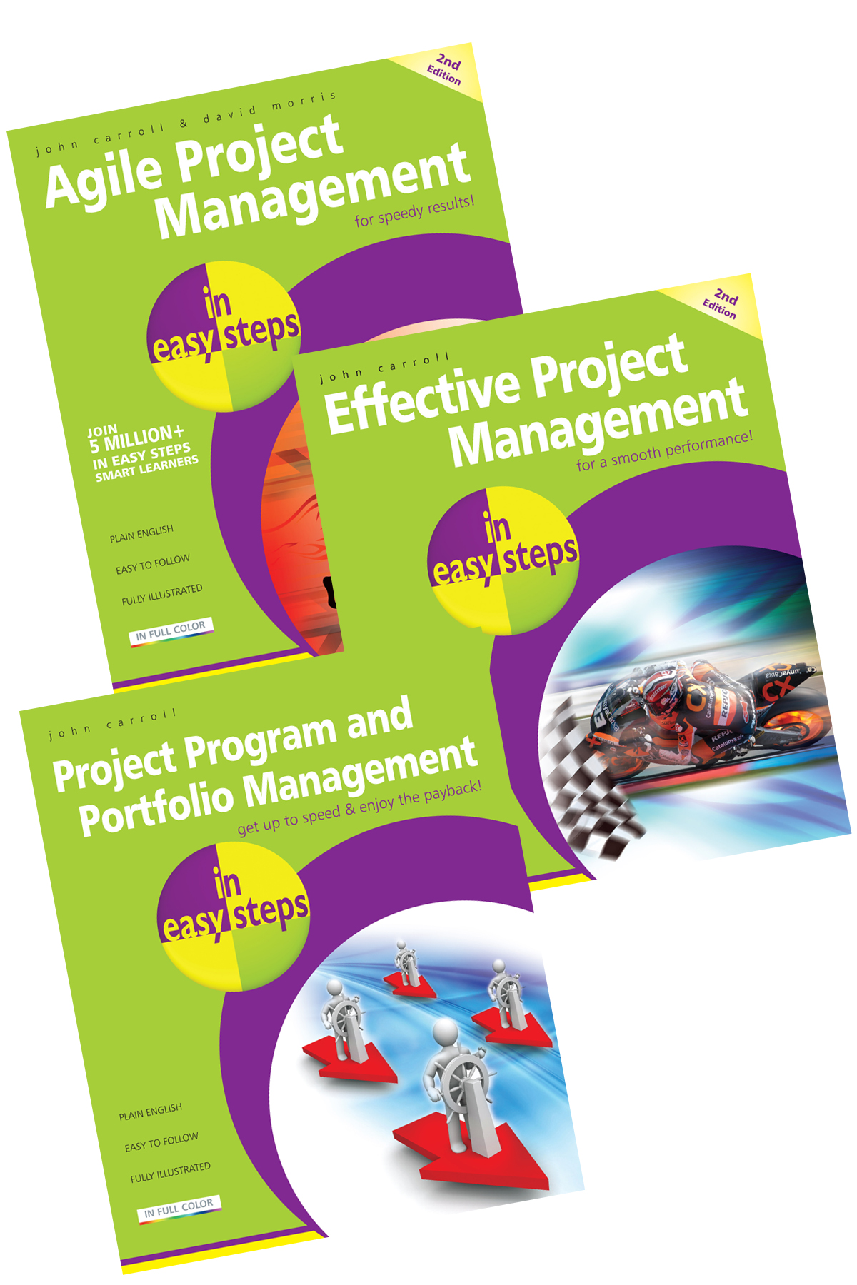Agile Project Management in easy steps SET