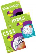 Web Design in easy steps, HTML5 in easy steps, and CSS3 in easy steps – SPECIAL OFFER