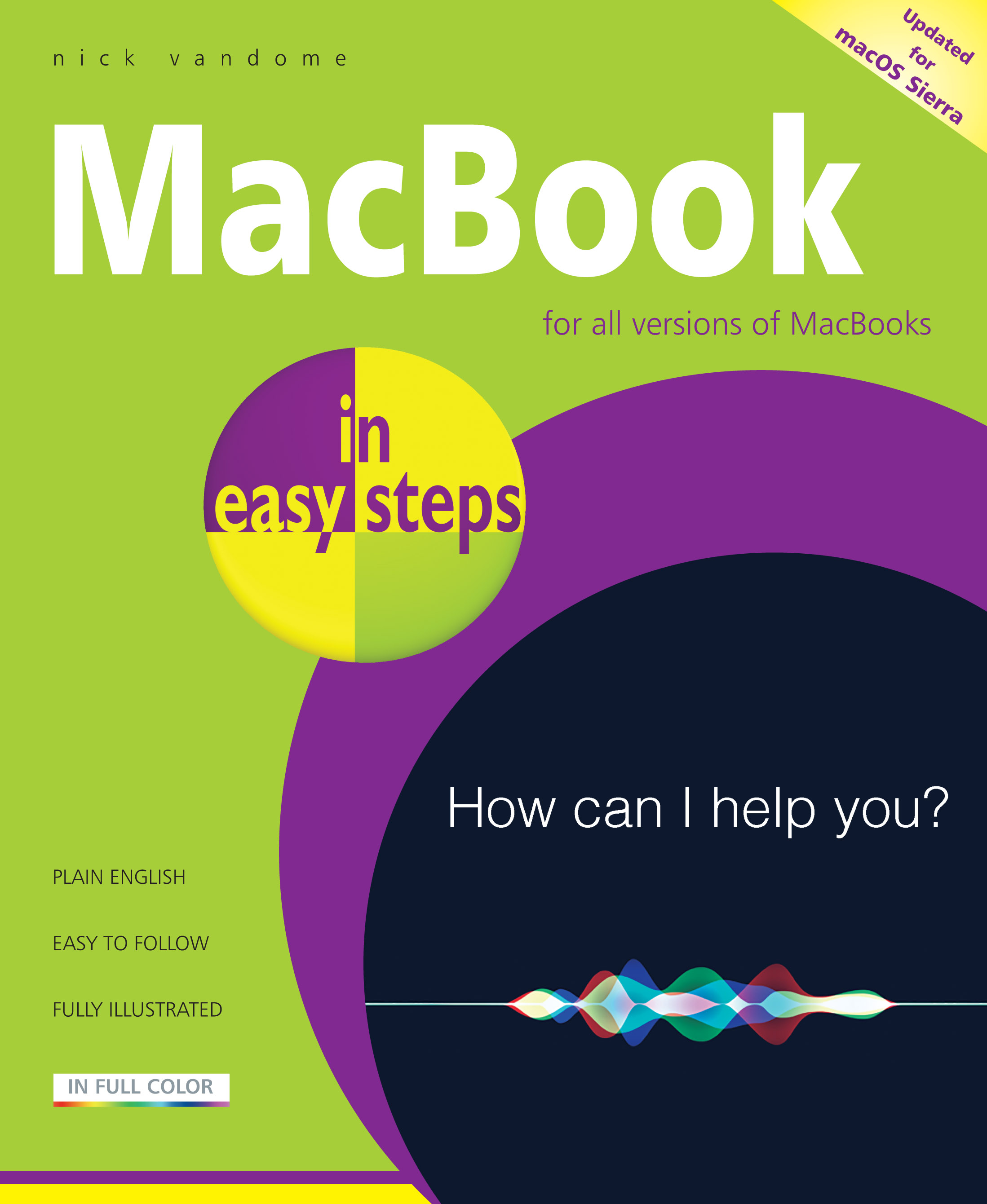 MacBook in easy steps, 5th Ed 9781840787450
