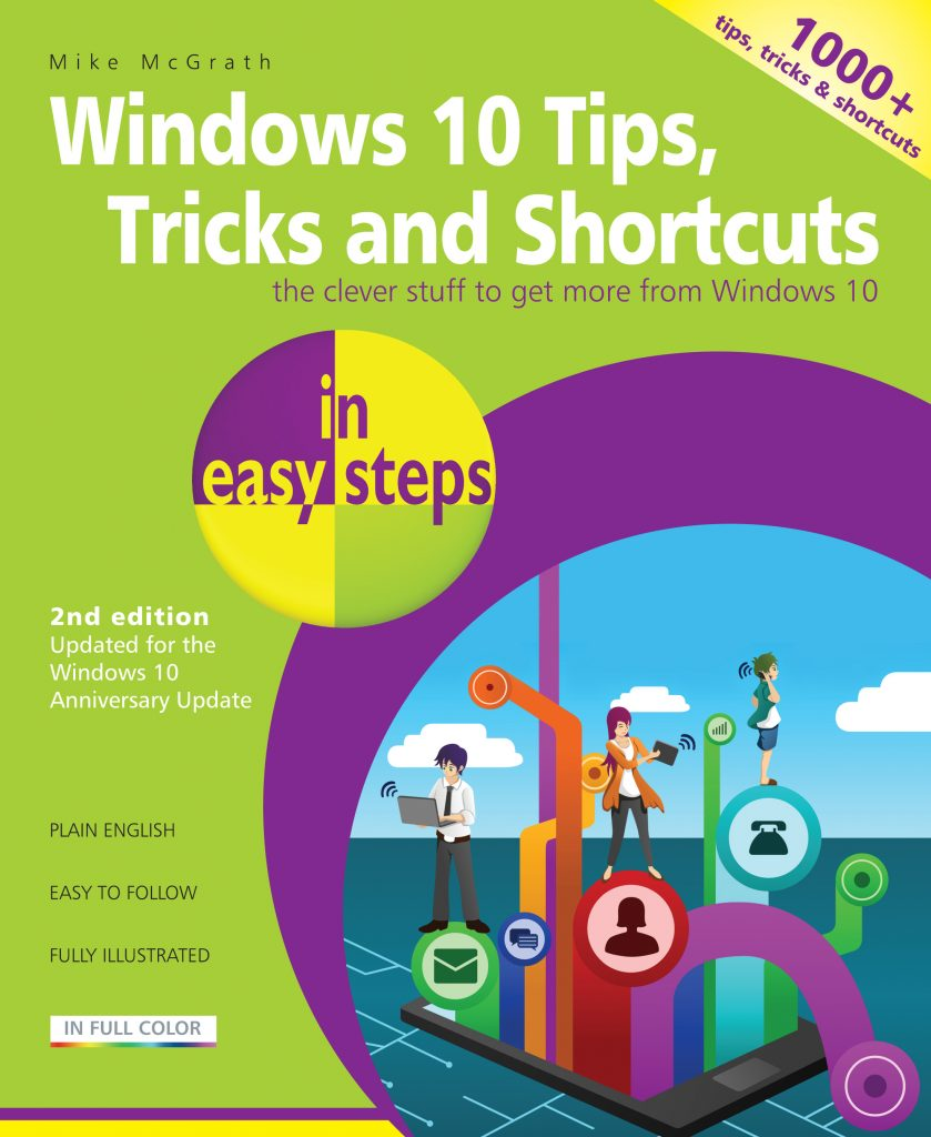 Book Cover Craft Update ~ In easy steps windows tips tricks shortcuts