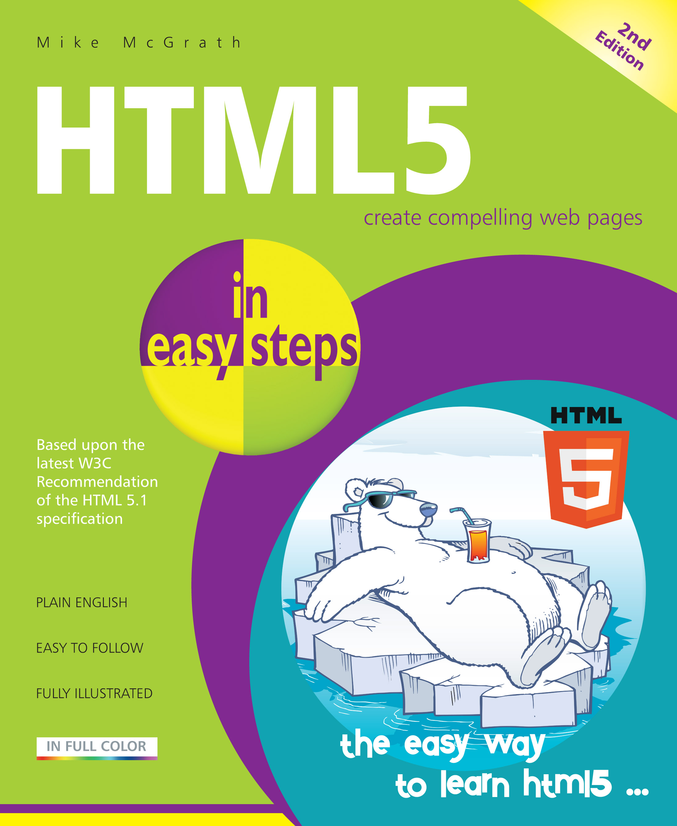 HTML5 in easy steps, 2nd Edition 9781840787542
